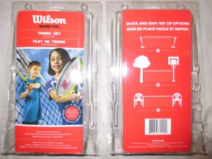 Wilson 20 foot Paddle Tennis Starter Net, $19.99 with paddle purchase