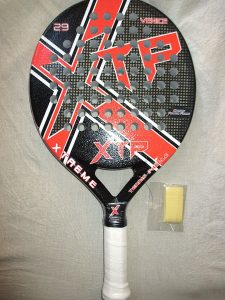 XTP 29mm Venice Ultimate Control Pop Tennis Paddle Red