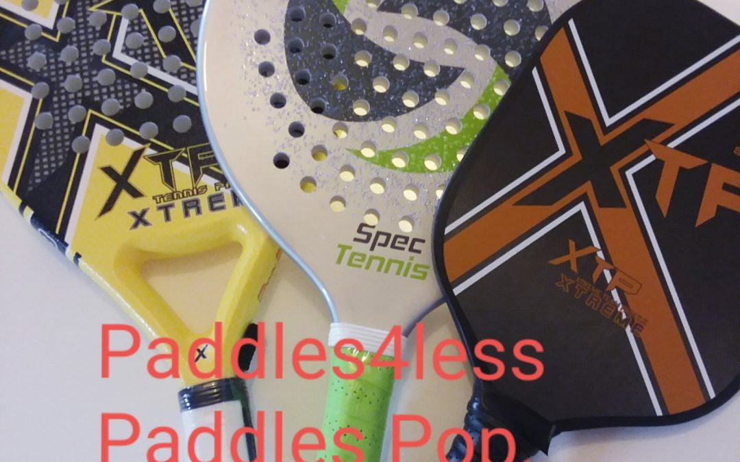More Paddle Sports-Pickleball*Paddle Tennis*Platform Tennis*Pop Tennis*Spanish Padel*Spec Tennis*