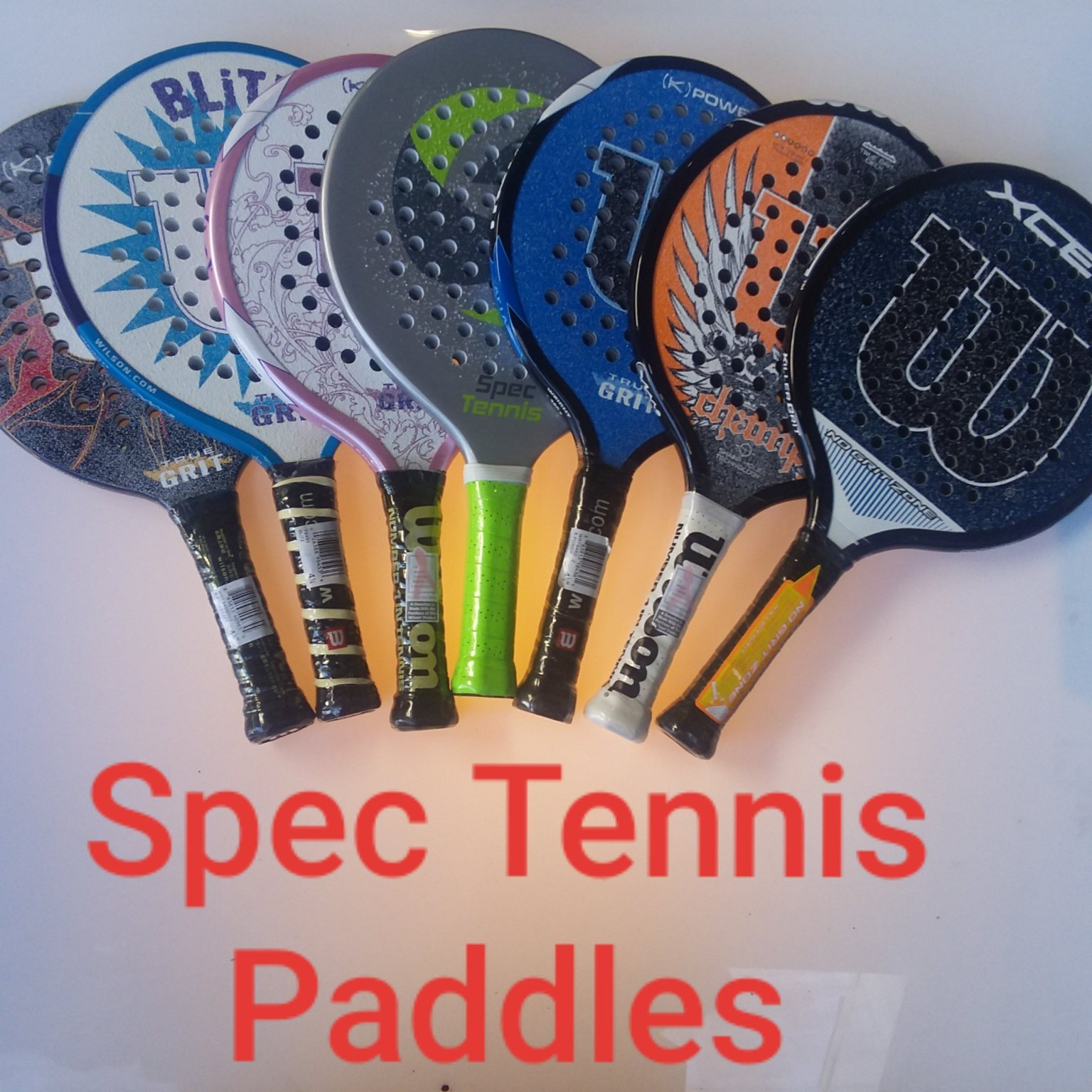 Some info on Spec Tennis Paddles.
